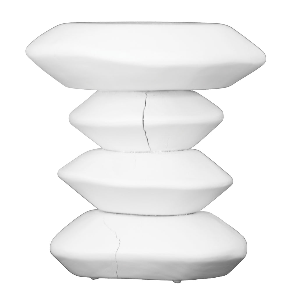 Stacks Stool | White