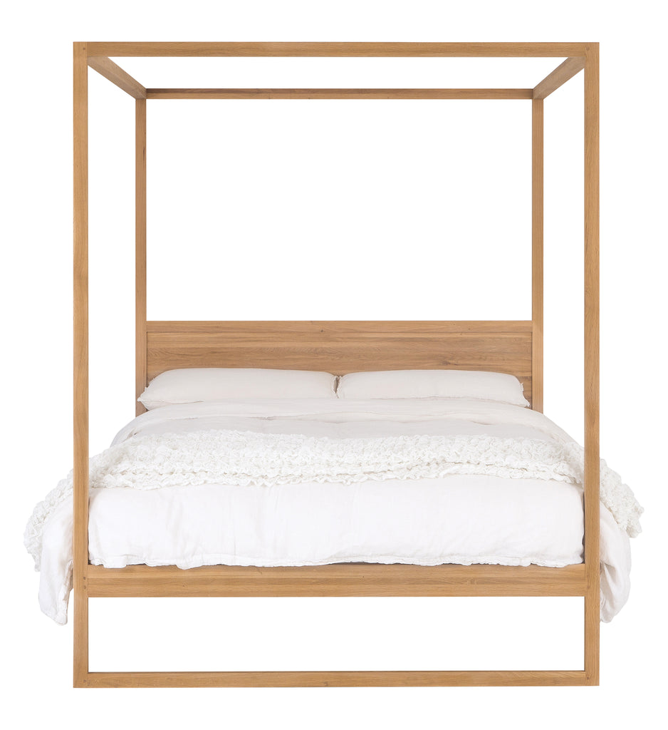Strand Four Poster Bed | Natural