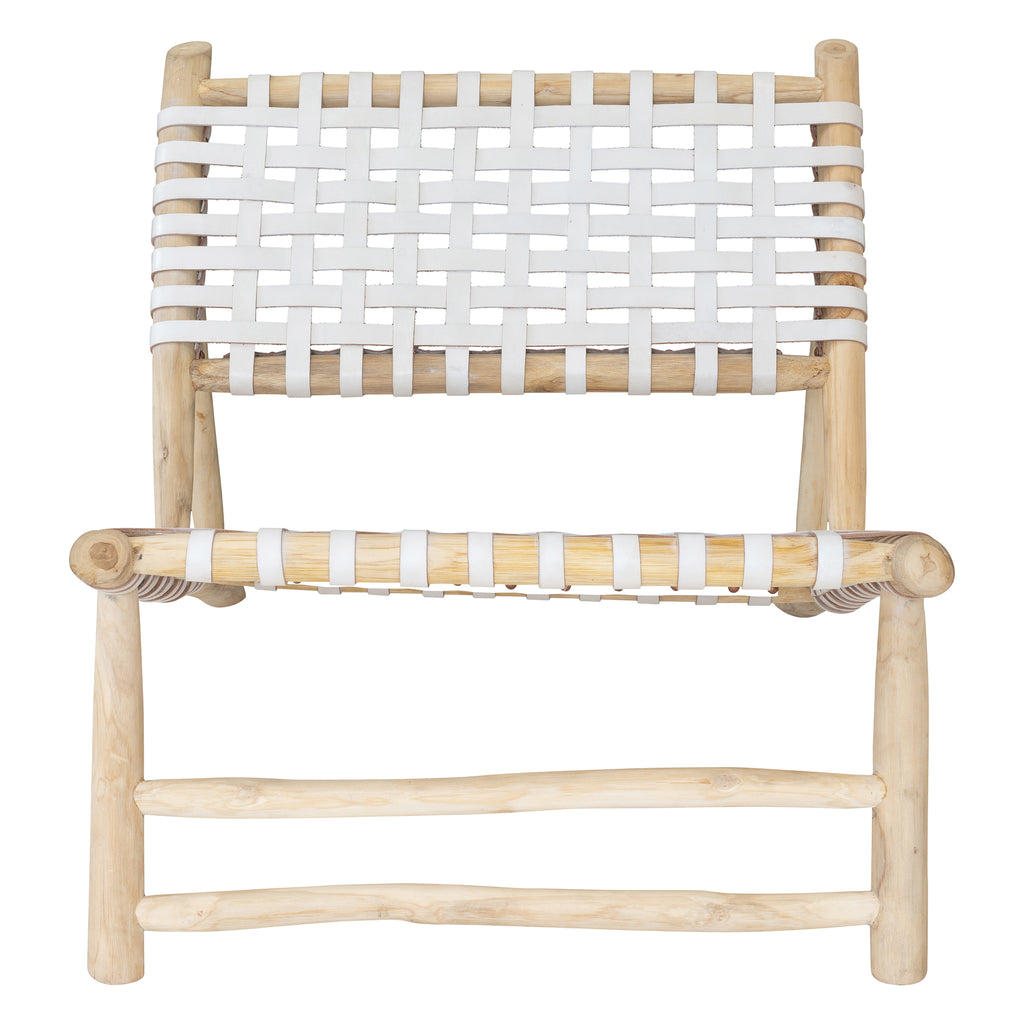Sunset Occasional Chair White