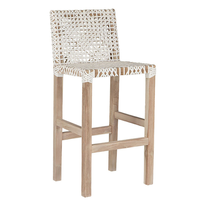 Sweni Barchair | Natural & White