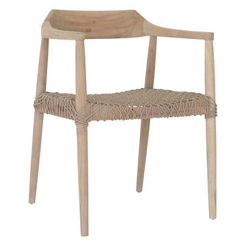 Sweni Horn Armchair | Natural