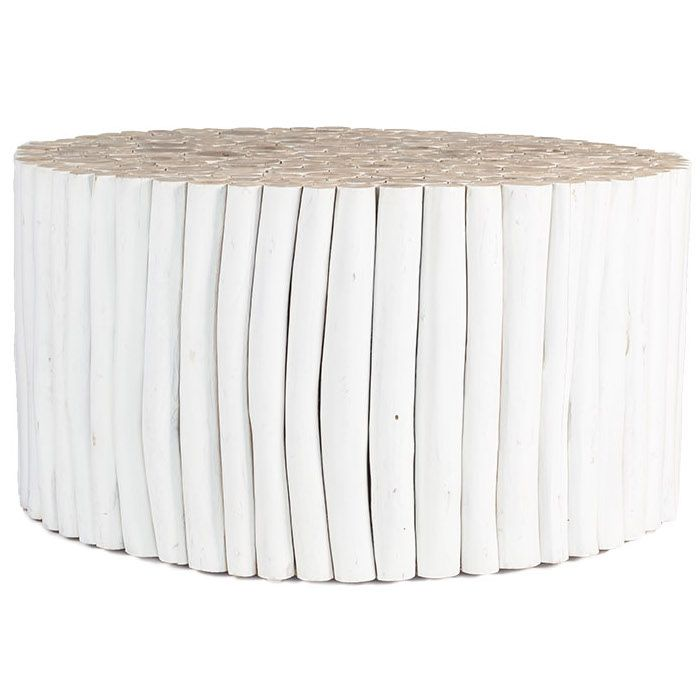 Takke Coffee Table | White
