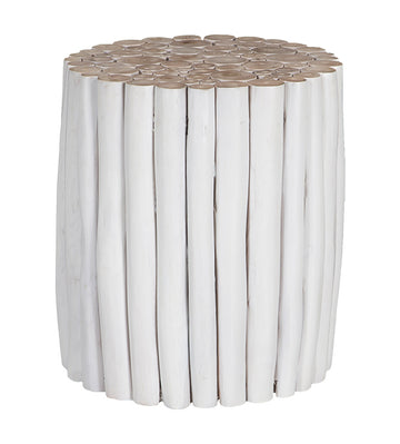 Takke Side Table | White