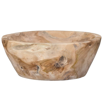 Teak Carved Bowl