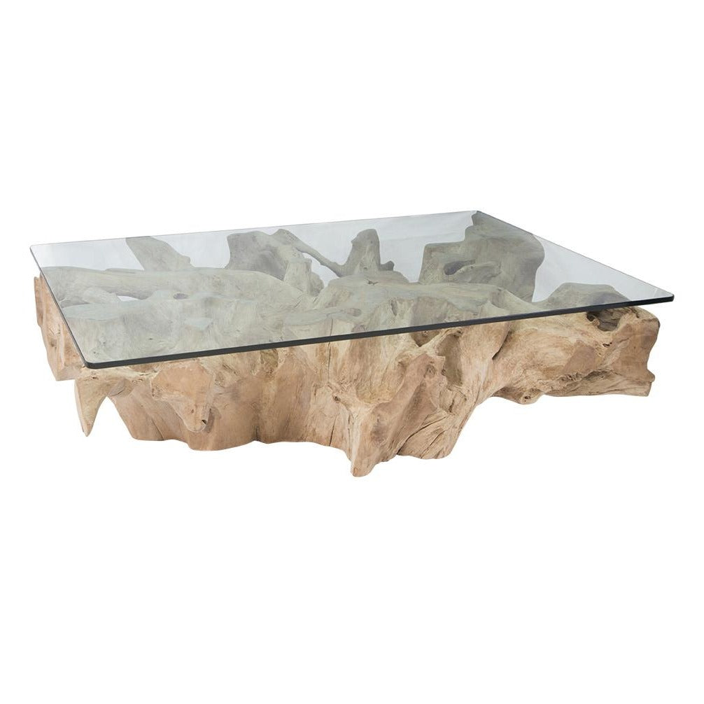 Teak Root Coffee Tables: Bleached – Uniqwa Furniture