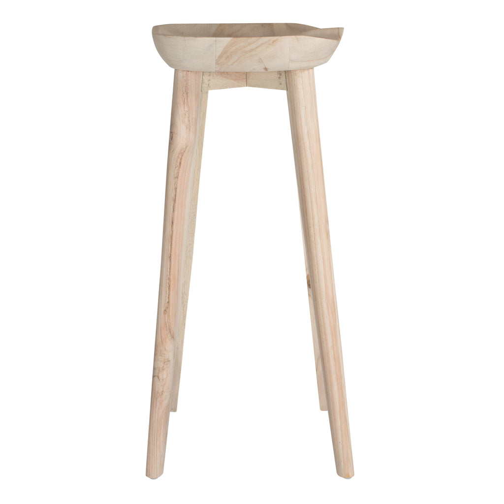Tractor Barstool | Carved