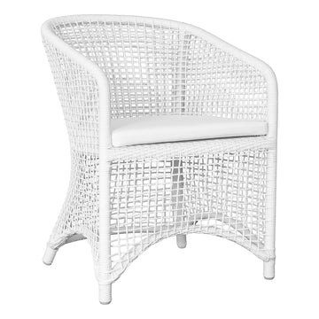 Trinidad Dining Chair | White