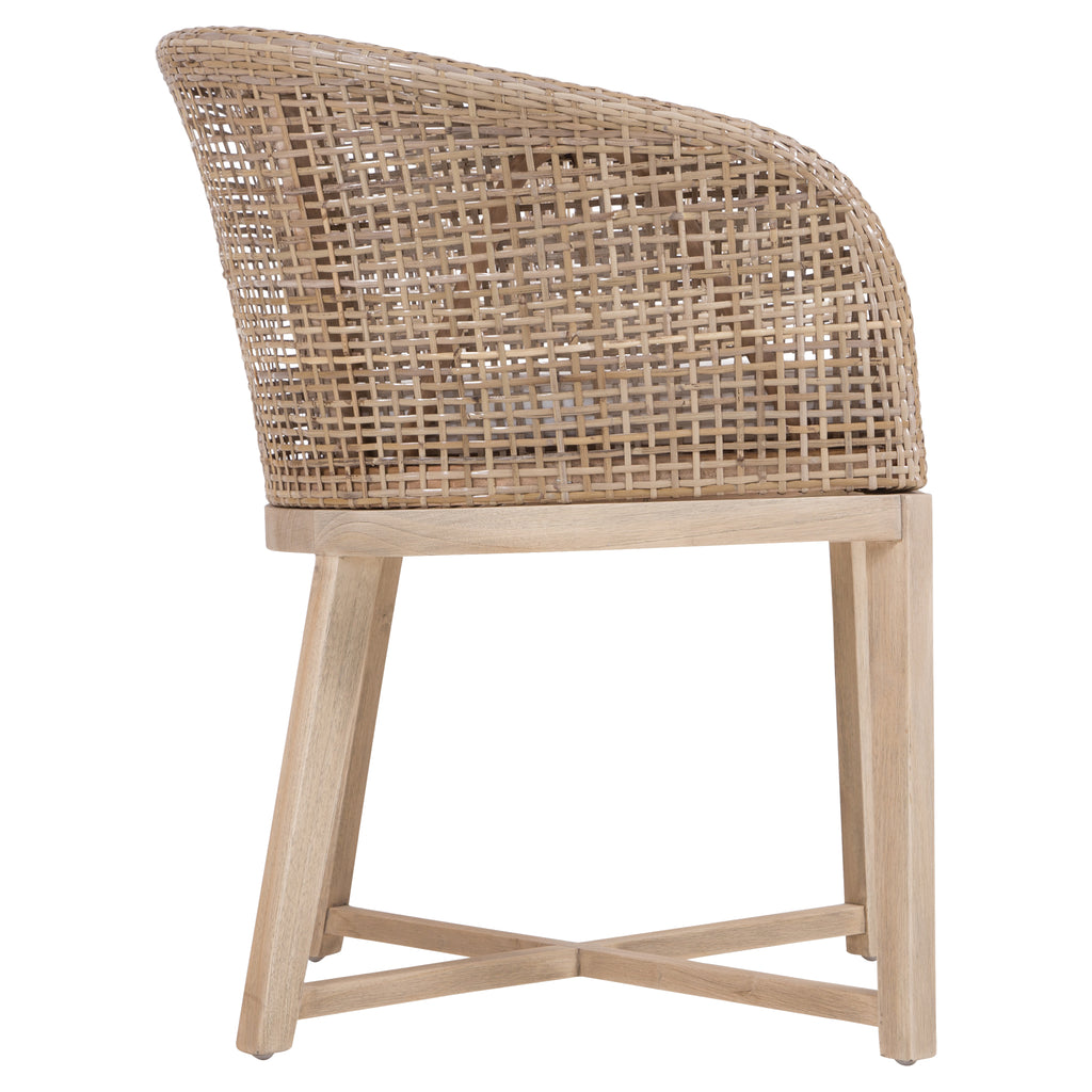 Tula Dining Chair | Natural