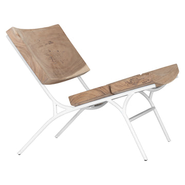 Wilderness Occasional Chair | White