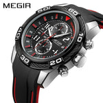 MEGIR Chronograph Sport Men Watch