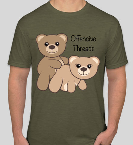 Mens Funny Bear Shirt - Offensive Threads