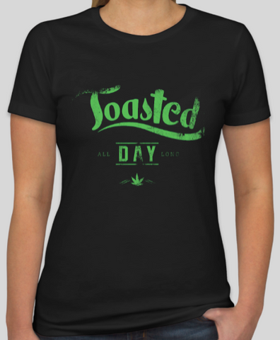 Women's Toasted All Day - Offensive Threads