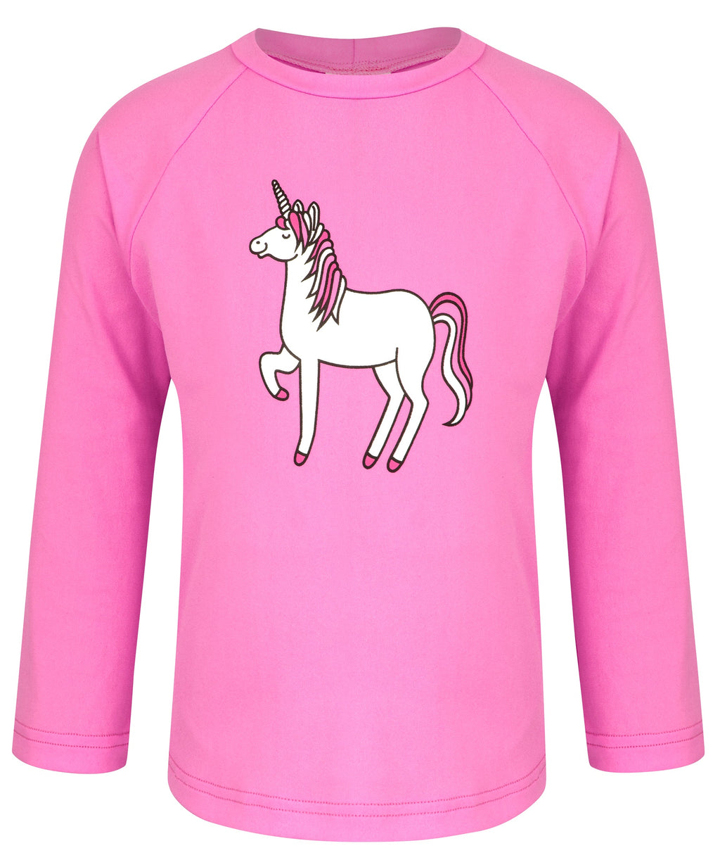 Unicorn Long Sleeve Sun Top