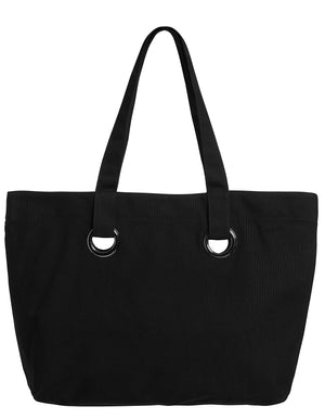 Seafolly Eyelet Tote - Black