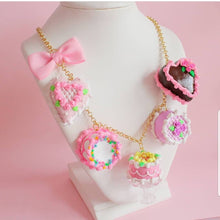 Load image into Gallery viewer, Marie Antoinette Cake Statement Necklace