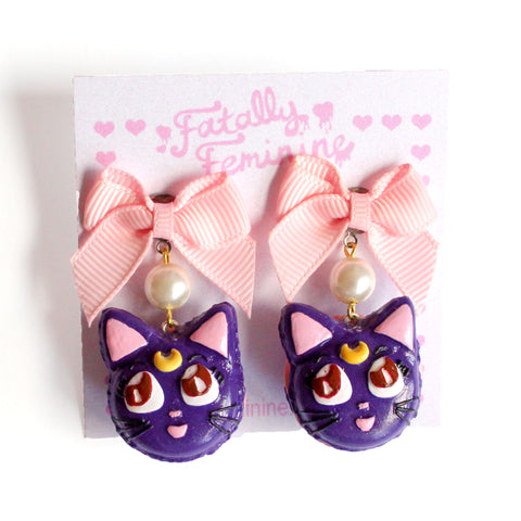 Luna Macaron Earrings
