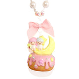 Kiki & Lala Miniature Cake Pearl & Bow Necklace