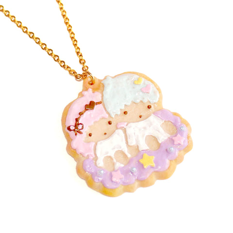 Kiki and Lala Decorated Cookie Necklace