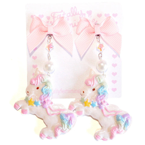 Twin Stars Unicorn Bon Bon Earrings