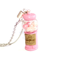 Load image into Gallery viewer, Pink Gumball Machine Necklace