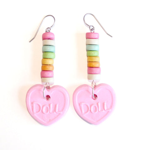 Faux Candy Earrings