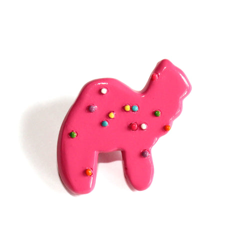 Frosted Circus Animal Cookie Pin