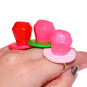 Candy Ring Pop Ring - Faux Ring Pop