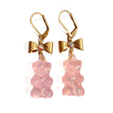 Baby Pink Gummy Bear Earrings