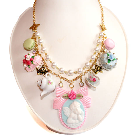 Marie Antoinette High Tea Statement Necklace