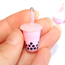 Load image into Gallery viewer, Bubble Tea Necklace Boba Tea Necklace - Choose Your Color!