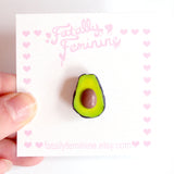 Avocado Pin Brooch - Fatally Feminine Designs