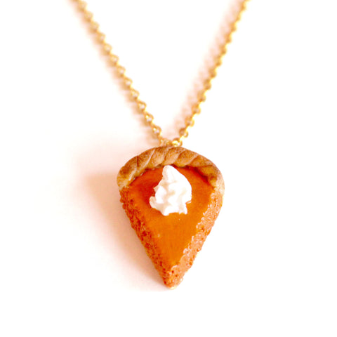 Pumpkin Pie Necklace - Fatally Feminine Designs