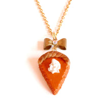 Load image into Gallery viewer, Pumpkin Pie Necklace - Fatally Feminine Designs
