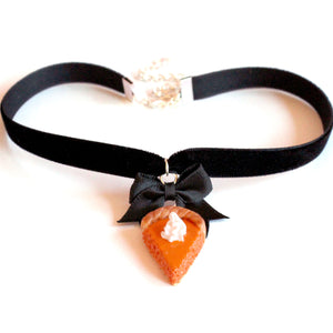 Pumpkin Pie Choker - Fatally Feminine Designs