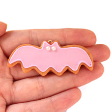 Load image into Gallery viewer, Purple Pastel Bat Cookies SET - Necklace & Earrings - Fatally Feminine Designs