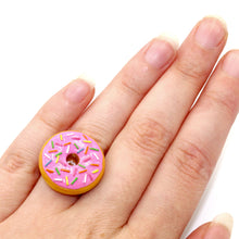 Load image into Gallery viewer, Pink Donut Ring