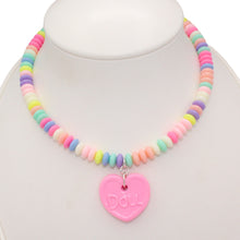 Load image into Gallery viewer, Faux Candy Necklace - Pastel Edition - Customizable