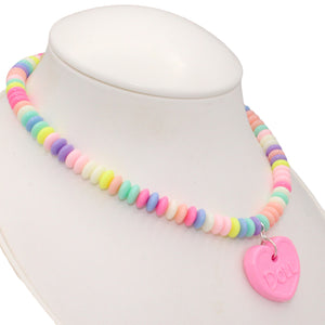 Faux Candy Necklace - Pastel Edition - Customizable