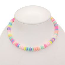 Load image into Gallery viewer, Pastel Faux Candy Necklace - Custom Length