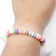 Load image into Gallery viewer, Pastel Faux Candy Bracelet