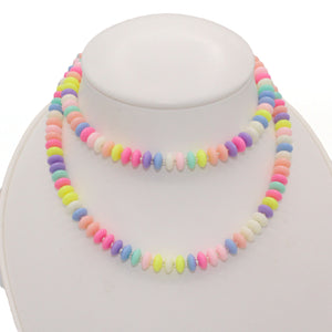 Pastel Faux Candy Necklace - Custom Length