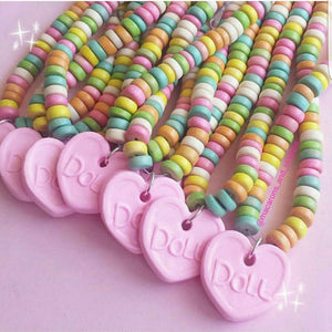 Faux Candy Necklace - Kawaii Candy Choker