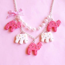 Load image into Gallery viewer, Circus Animal Cookies Necklace Statement Necklace