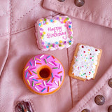 Large Donut Pin