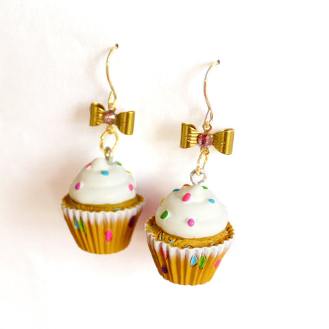 Confetti Cupcake Earrings