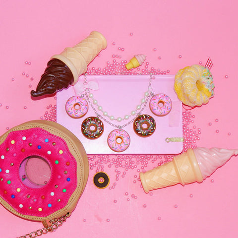 Donut Statement Necklace