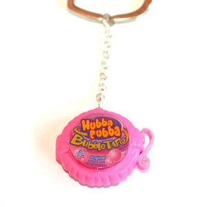 Special Edition Hubba Bubba Bubble Tape Keychain - Fatally Feminine Designs