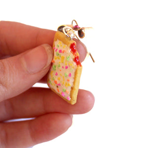 Strawberry Pop Tart Earrings