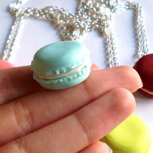 French Macaron Necklace - Fatally Feminine Designs