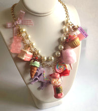 Load image into Gallery viewer, Pink Candy Shop Statement Necklace - As seen on Fuller House Kimmy Gibler